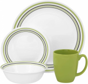 Corelle Livingware 16-Piece Dinner Set, Service for 4