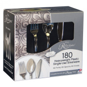 "Reflections Heavyweight ""Looks Like Silver"" Disposable Flatware"