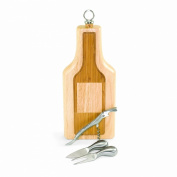 Picnic Time Silhouette Cheese Board/Tool Set