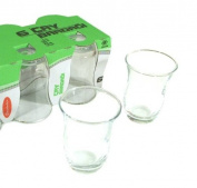 Turkish Tea Glass Set - Plain