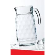 HOME ESSENTIALS ECLIPSE 1950ml GLASS WATER PITCHER