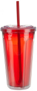Copco 2510-0285 710ml Double Wall Cold Tumbler, Red