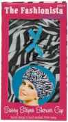 "Betty Dain . Design Mould Resistant Shower Cap, The Fashionista Collection, ""sassy Stripes"" by Betty Dain Creations, Inc. [Beauty]"
