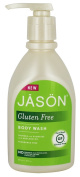 Jason Gluten Free Body Wash Fragrance Free, 30 Fluid Ounce