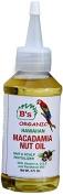 B's Organic Hawaiian Macadamia Nut Oil 120ml