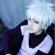 Sunny-business Anime Short Naruto Kakashi Hatake Silver White of Cosplay Wig