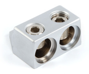 Kicker GT2 Ground Termination Block with Two 1/0-8 Gauge Inputs