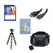 Panasonic HC-V550K Camcorder Accessory Kit includes
