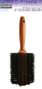 Brittny Professional Round Roll Boar Bristle Brush 7.6cm