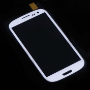 New Front Screen Glass Lens for for for for for for for for for for for Samsung Galaxy SIII S 3 i9300 White +Tools