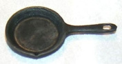 2.5cm Scale Dollhouse Black Small Frying Pan