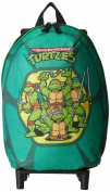 Nickelodeon Boy's Teenage Mutant Ninja Turtles Small Rolling Shell Backpack