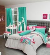 Best Seller PARIS Reversible Comforter Set and Window Panels