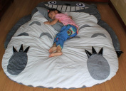smile face teeth Totoro Double bed Totoro bed Totoro sleeping bag Large size
