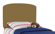 Lauren'S Twin Kids Headboard By Skyline Furniture In Khaki Brown Cotton