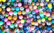 Rhode Island Novelty Assorted Super Bouncy Balls (250 Count), 27mm