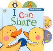 I Can Share (Pullout Pictures) [Board book]