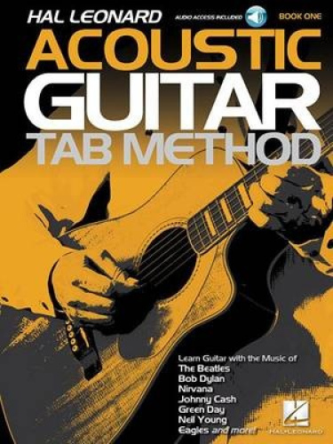 Hal Leonard Acoustic Guitar Tab Method - Book 1: Book with Online Audio.