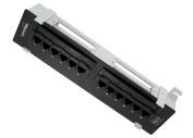 Leviton 5G596-U89 GigaMax 5E Universal 12-Port Patch Block, Cat 5E 10.0-inchH X 2.3-inchW
