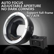 Auto Focus EF-NEX EF-EMOUNT FX Lens Mount Adapter for Canon EF EF-S Lens to Sony E Mount NEX 3/3N/5N/5R/7/A7 A7R Full Frame