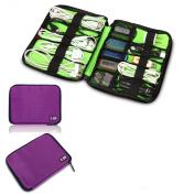 Damai Universal Cable Organiser Electronics Accessories Case USB Drive Shuttle