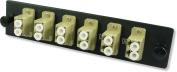 Lynn Electronics 12 Fibre LC Multimode Adapter Strip, 6 Duplex LC Ports, LGX Footprint