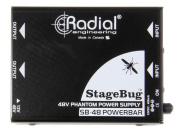 Radial SB-48 Stagebug Phantom Power Supply