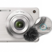 Micover Stickover-Mini Universal Windscreen for DSLRs, Phones, Laptops, Small Video Cameras