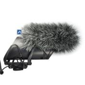 Micover Slipover Fur Windscreen for SHURE LensHopper VP83F and VP83 Microphones