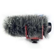 Micover Slipover Fur Windscreen for RODE VideoMic Go, VMGO