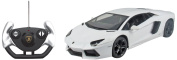 Kid Galaxy Lamborghini Aventador LP700 R/C Car, 1:14 Scale, White
