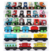 Thomas Wooden Magnetic Wool Thomas Train Track Toy Childkids Play Toy Gift