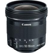 Canon EF-S 10-18mm f/4.5-5.6 IS STM Lens Optimized for Canon EF-S Mount DSLRs  - (Aperture Range: