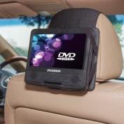TFY Car Headrest Mount for Sylvania SDVD7027-C 18cm Portable DVD Player
