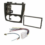 fits Nissan for Altima 2007-2011 Double Din Aftermarket Radio Stereo Installation Dash Kit + Wire Harness and Antenna Adatper