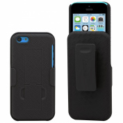 Aduro Shell Holster Combo Case for Apple iPhone 5C with Kick-Stand & Belt Clip