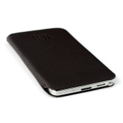 Synthetic Leather Smartphone Sleeve for Samsung Galaxy Note 3 by Dockem - Ultra Slim Professional Executive Synthetic Leather Pouch Case