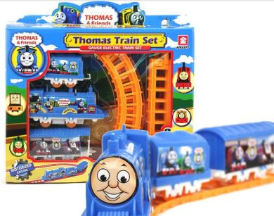 1 Set Thomas Train Toys Electric Rail Train Thomas & Friends Mini Electric Train Set Track Toy For Kids Withbox