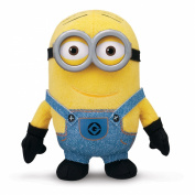 New Official Despicable Me 2 15cm  Soft Plush Minion Dave Toy 3d Eyes Doll Toysfast