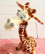 Madagascar Melmen Toys Giant Stuffed Animal Plush 75cm Cute Giraffe Toys For Children