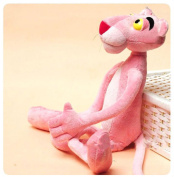 Cute Pink Naughty Panther Leopard Plush Infant Toys Baby Kid Doll 40cm  Tall