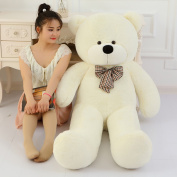 100cm White Life Size Doll Plush Large Teddy Bear For Sale Giant Big Soft Toys Teddy Bears Valentines/christmas Birthday Gift
