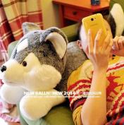 Stuffed Animal 60cmsimulation Husky Dog Plush Toy Soft Doll W62