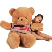 Plush Toy Sweater Teddy Bear About 65cmlarge Teddy Baby Bear Doll Birthday Gift T8427