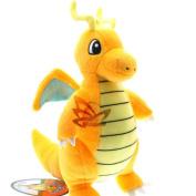 New Pokemon 23cm  Dragonite Plush Toy Doll New