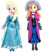 2pcs/set Frozen Princess Dolls,frozen Elsa And Anna Princess Plush Doll Withbox,frozen Princess Gift Toys