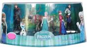 Movie Frozen Anna Elsa Hans Kristoff Sven Olaf Pvc Action Figures Toys Dolls New Inbox 6pcs/set