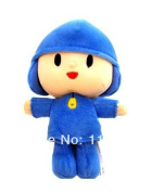 New Elly Pato Figure Pocoyo Toys Bandai Doll Plush Toy Pocoyo 30cm Toys Plush Soft Cartoon Stuffed Animals Child Birthday Gift