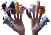Old Macdonald Had A Farm Finger Puppets - 10pcs