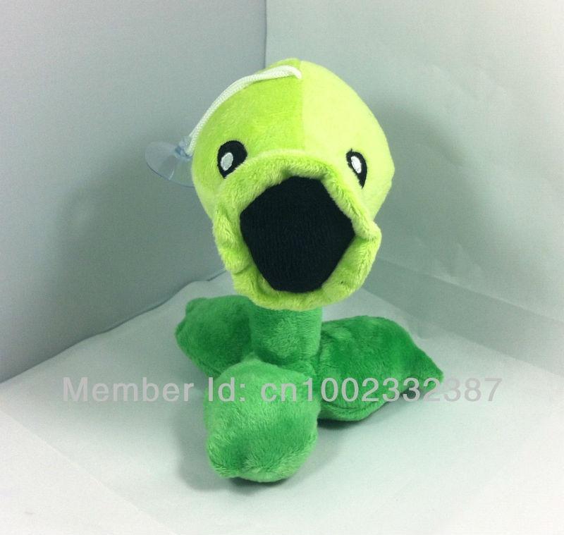 Plants Vs Zombies (pvz)peashooter Plush Doll Toy 17cm